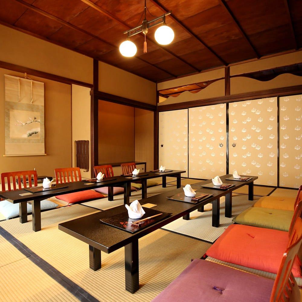 ◆落着きのある純和風のお座敷で
