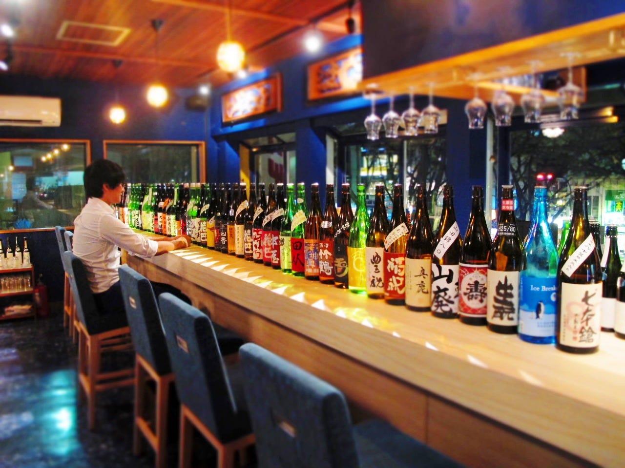 全国の日本酒・お勉強もOK