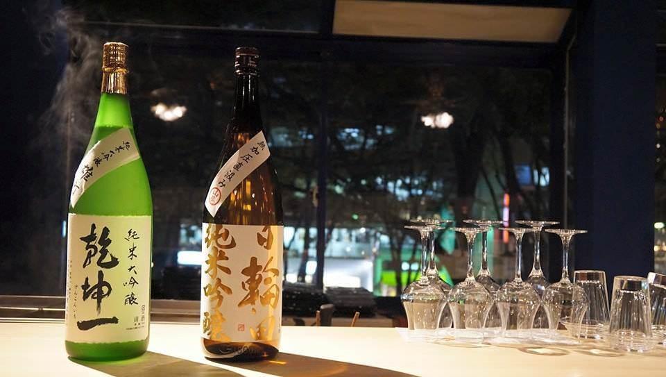 コースの日本酒はご予算により種類を増やせます