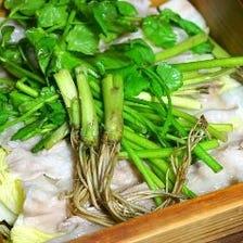 宮城野Lポークと葉野菜ののせいろ蒸し