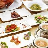 贅沢素材のコース料理