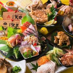 秋の宴会を贅沢に!【いろとり鶏コース】種鶏の炭火焼き・旬の食材・牡蠣・ふぐのタタ付き