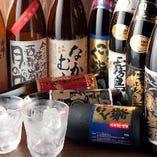 【種類豊富な本格焼酎】 九州各地より取り揃えた厳選本格焼酎