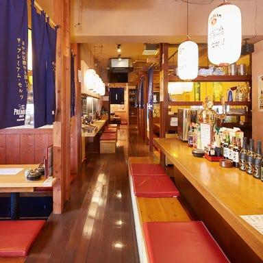 鮮魚と炭焼 春夏秋冬 浦添内間店 店内の画像