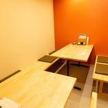【テーブル半個室/3~6名様】宴会、会食シーンに。プライベート感満載のお席