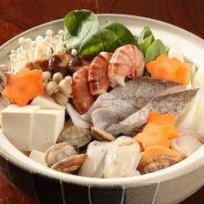 ◆宴会コースは選べる鍋全3種