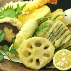 旬野菜の天婦羅 おまかせ盛り