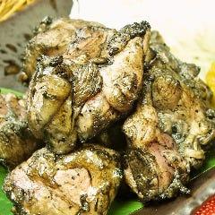 大山鶏もも備長炭燻焼き