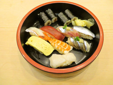 八千代鮨  コースの画像