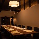 10名様より貸切可!【2階テーブル個室/28名様まで】ほっこり京町家空間を独占