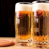 沖縄で生まれ育った爽やかな生ビールをお楽しみください♪