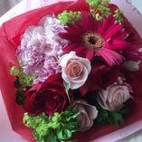サプライズのプレゼントに・・・ お好みに合わせた『花束』をご用意いたします