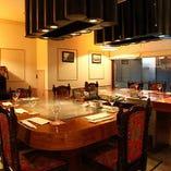 《2階》家族やお仲間で集うひと時を特別な空間で【テーブル個室(8~14名様)】