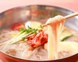 夏季(5~9月)シーズンに最適な冷麺!コシと食感に注目!