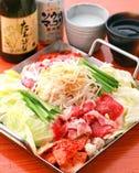 選べる7種美食鍋コース;韓式鉄板鍋 とりはり・和風カレー鍋等