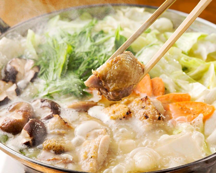 【2時間飲み放題付】九州巡り水炊き鍋コース〈全8品〉|ご宴会・飲み会