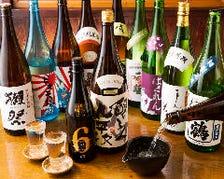 九州地方の日本酒が充実!!