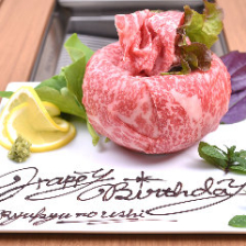 事前オーダー限定肉ケーキ!