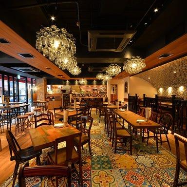 Trattoria e Pizzeria de salita 赤坂 店内の画像