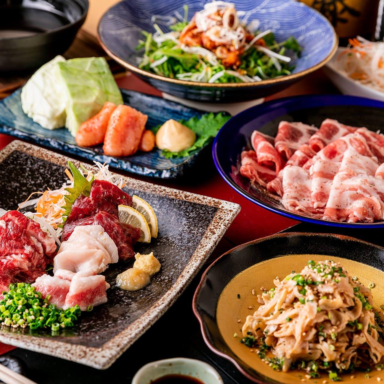 九州料理をまるごとコースで!