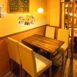 シュラスコ食べ放題&肉バル KANATA 渋谷店 個室のご案内-少人数様向け個室-