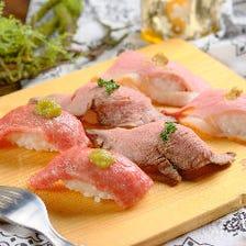 TVで話題の肉ずし食べ放題3280円!