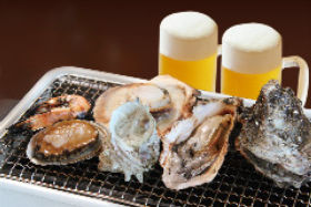 Oyster & Seafood BBQ ととや新兵卫