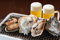 Oyster & Seafood BBQ ととや新兵衛