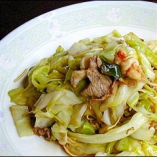 什錦台麺 Sauteed noodles with pork & vegetables