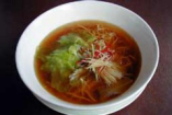 姜葱湯麺 Soup noodles with ginger & onion
