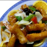 糖醋魚片                           
