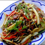 牛絲炒麺   