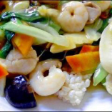 三鮮鍋巴           