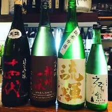 日本全国の日本酒が味わえる!