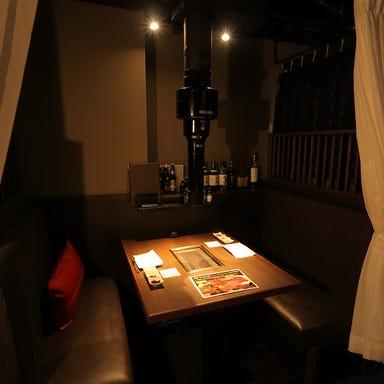 焼肉とワイン 醍醐 銀座店 店内の画像