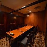 【コロナ対策万全】落ち着いた雰囲気のテーブル完全個室(2~8名様)×5部屋