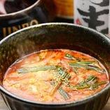 牛神スープ甘辛い濃厚スープ!