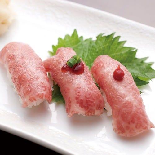 米沢牛のお寿司