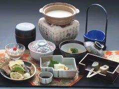 京都 湯葉料理  かめや本家