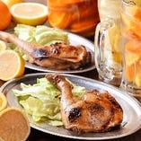 【鶏料理】 お酒が進む逸品!『骨付鶏』は必食です★