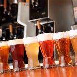 国内外のビールやカクテルなど多彩なドリンクメニューをご用意