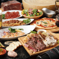 2H飲み放題付き!忘新年会に◎肉3点盛りをはじめ人気料理が勢揃い『幹事様会計楽々込々プラン』全8品