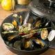美味しい香りが立ち上る♪ふっくらムール貝の香味白ワイン蒸し