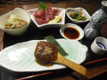 郷土料理セット1650円消費税込み