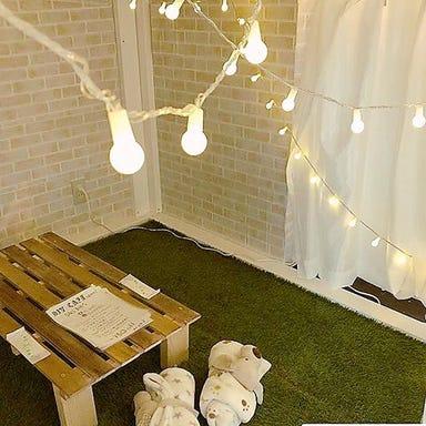 隠れ家 個室 DIYカフェ 難波アメ村店 店内の画像