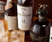 スコッチなど各種ウイスキー