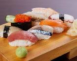 寿司も食べ放題!