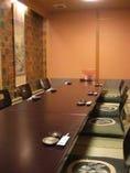 ご宴会などで最大40名様まで お入り頂ける個室ございます