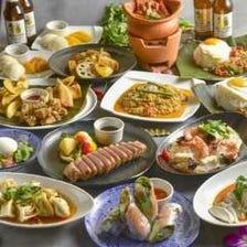 スパイスを追及したアジアン料理