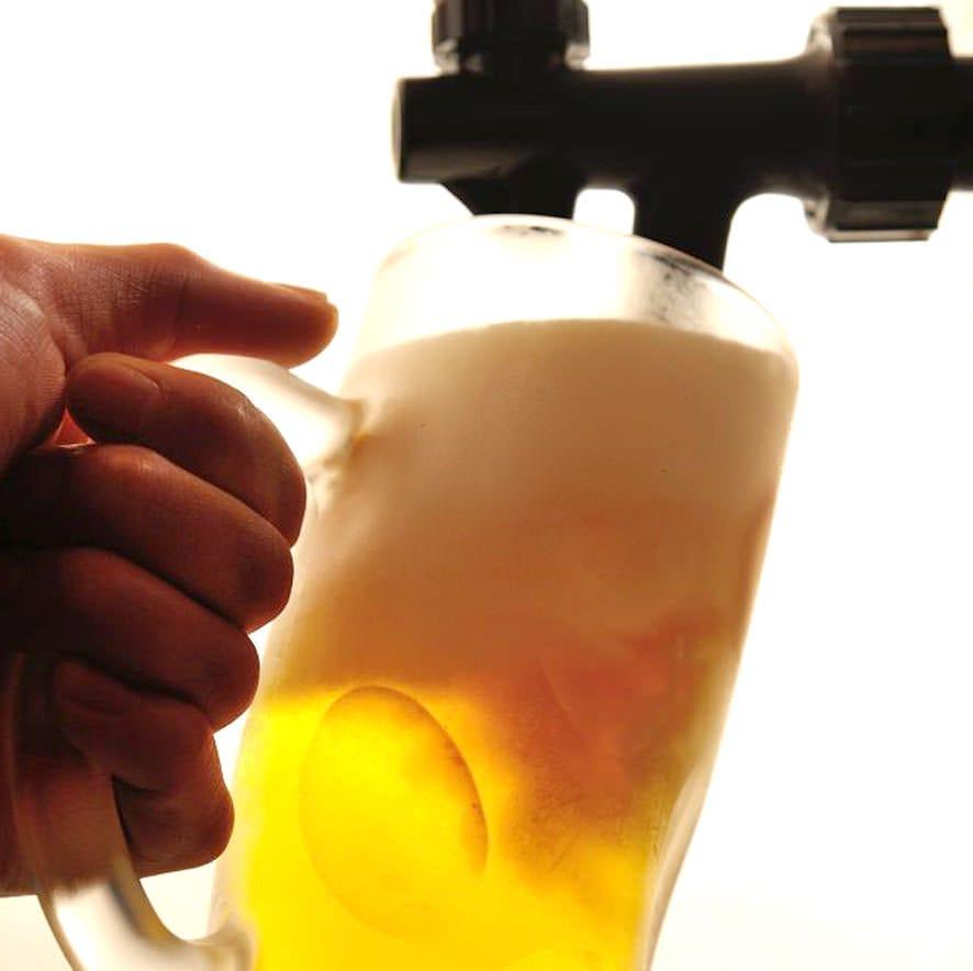 【個室確約/席のみ予約】+【乾杯生ビール】を1杯ずつサービスいたします!